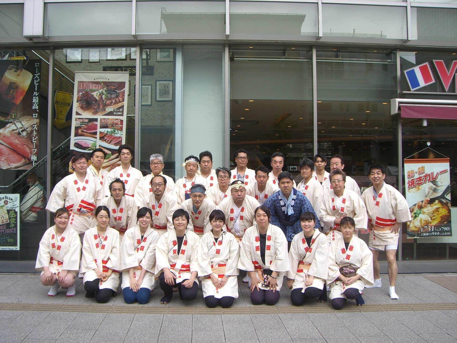 神田祭り集合写真