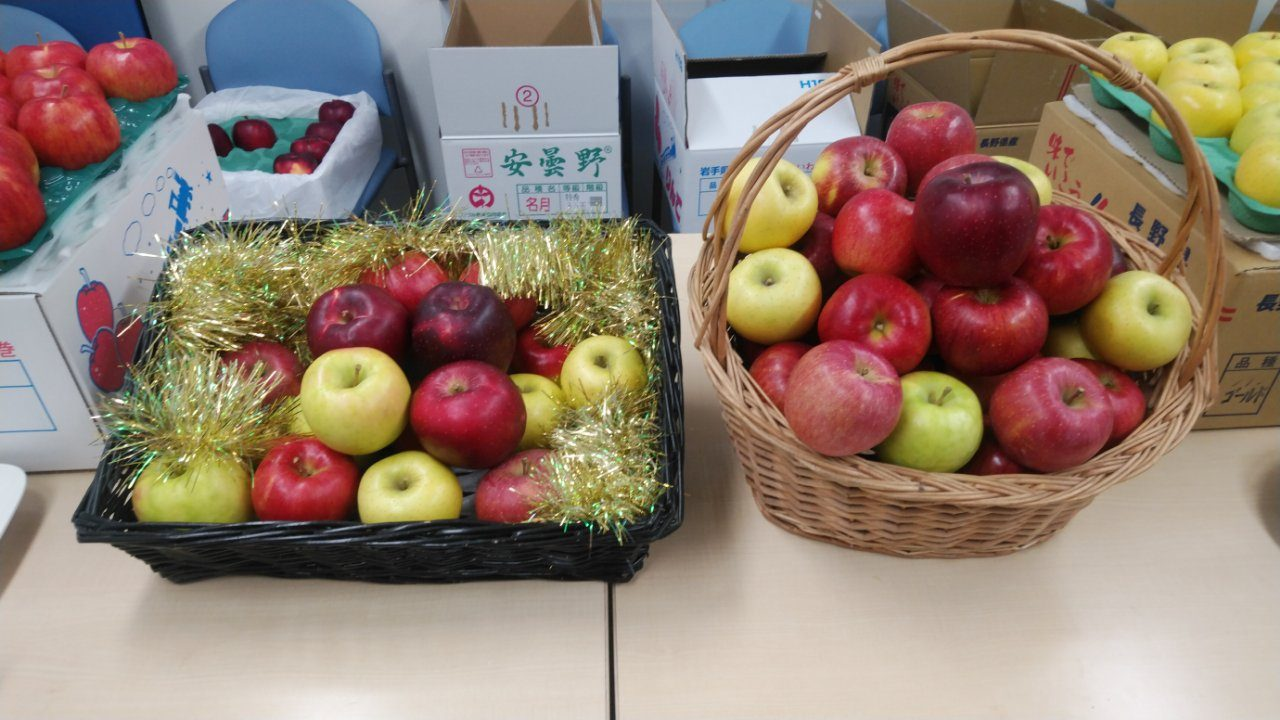 「りんご」試食会2