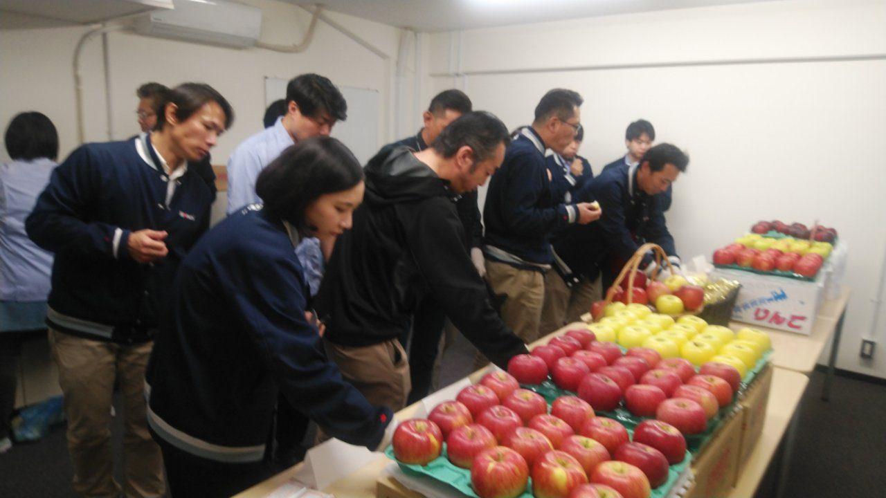 「りんご」試食会3