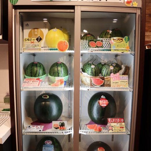 スイカ冷蔵庫